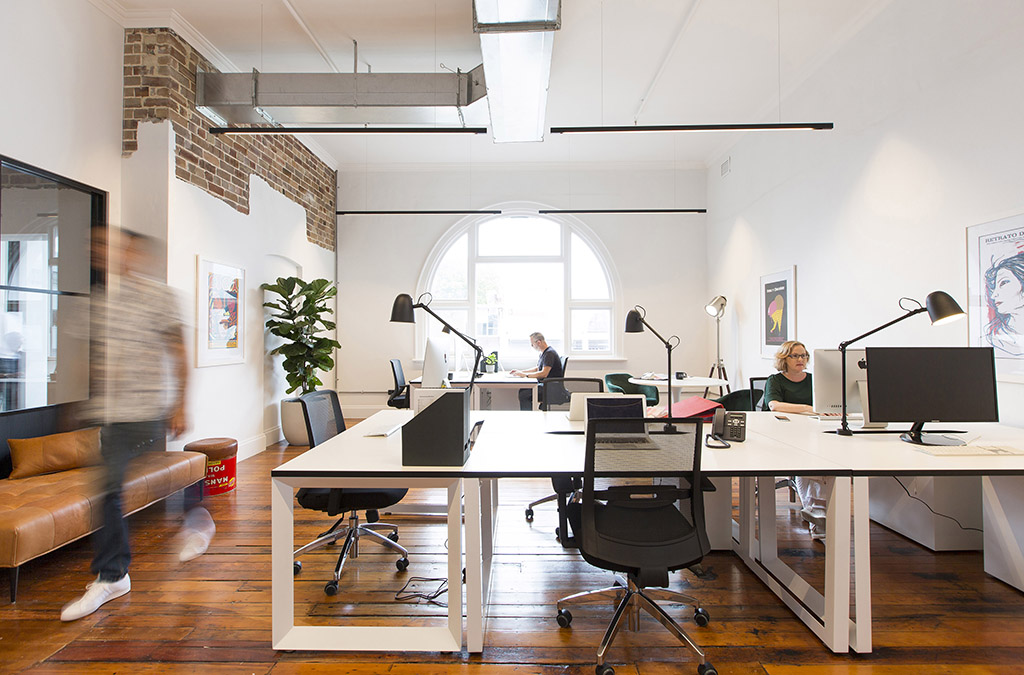 offices for lease in coworking building in crows nest